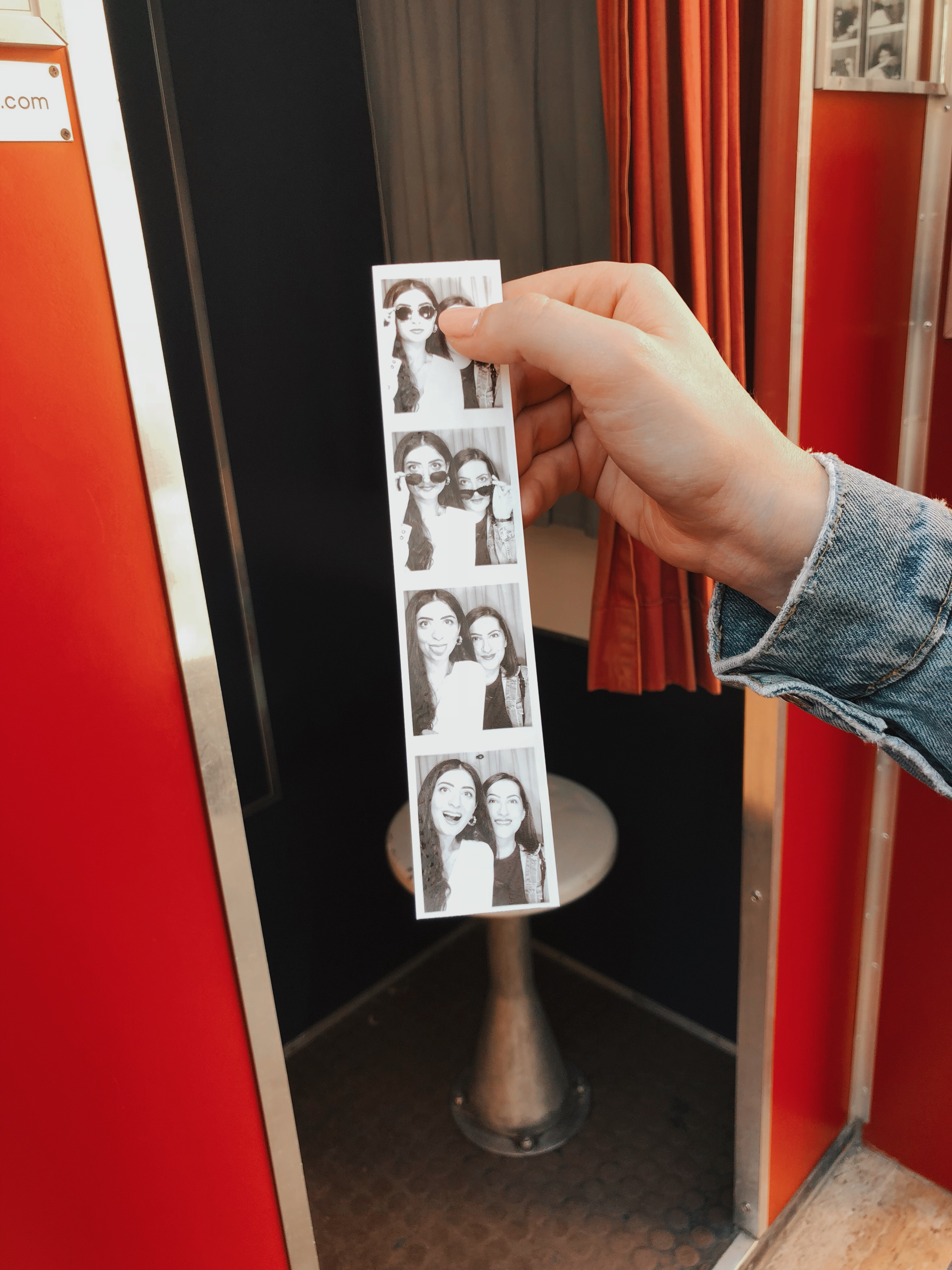 Vintage photo booth firenze